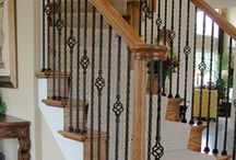 Traditional Staircase Remodeling Ideas / Traditional Staircase Remodeling parts are the industry standard for wrought iron stair components. Many of these balusters are available in multiple powder-coated finishes with hues of black, nickel, bronze, copper, and brass. Our traditional style parts are comprised mainly of balusters from the Round, Ribbon, and Twist collections. In combination with these series, our Scroll balusters can be used to create an expertly designed spiral focal point.