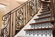 Stock Parts Idea Board / These Images feature wrought iron balusters available for purchase from Ironwood Connection. For more information about a specific part number, please visit our website.