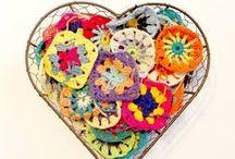 My crochet projects in progress