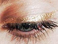 Makeup-Inspiration / Makeup-Inspirationen: Augenmakeup, Lippenstift, Beautyprodukte
