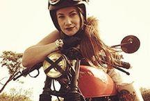 Moto Cafe Racer / Moto cafe racer vintage biker