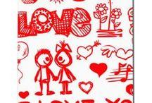 iPhone 4 ve 4S Sevgililer Günü Tasarımları / Diğer tüm telefon modellerinin Sevgililer Günü tasarımları için www.sanakapakolsun.com