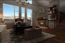 F&F Mountain lodge project / Planering av eventuellt projekt av Brf Lodge lägenheter för nära och kära