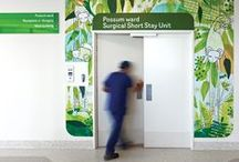 // healthcare signs + wayfinding / Inspiration and ideas from the healthcare sector  - a mix of our own projects and projects that spark our creativity.