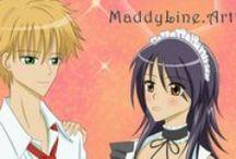 Anime Couples / Fanart of anime couples