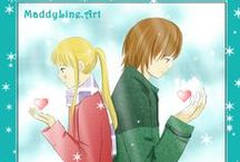 Manga Secret Hearts / This is a board about my own shoujo manga