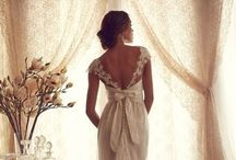Bridal gowns and Hair Style ideas