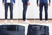 Pantalons homme / Choix de pantalons pour hommes #chino #chino #jeans