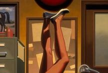 Kenton Nelson / R. Kenton Nelson (born 1954) is an American painter and muralist from California.