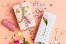 Gift wrapping DIY / DIY and Inspiration  How to make beautiful and creative gift wrapping