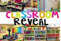 Classroom Decor & Reveals / Get inspired with peeks into these beautiful, creatively designed  classrooms. #classroomdecor