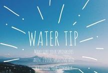 Water Tips / Learn how to conserve water this summer with some helpful tips!