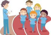 PE Classroom / Ideas for the Phys Ed classroom. Get inspiration from other PE teachers. #gymclass