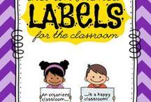 Classroom Organization / Get organized this school year! Organization tips, tricks, and ideas.
