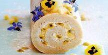 Cake Rolls/Swiss Rolls/Jelly Rolls/Roulades/Yule Logs