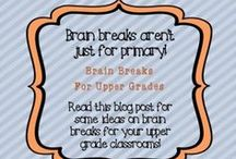 Brain Breaks / Give their Brain a break with these activities for Brain Breaks.