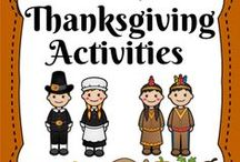 Thanksgiving Materials / Check out these Thanksgiving materials that you'll love sharing with your students. From classroom decor to writing activities to math resources to more, you'll find 'em here! Turkeys, pilgrims, materials that help you teach thankfulness, and more!