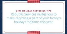 Holiday Recycling Tips / This holiday season, Republic Services encourages Rancho Cordovans to incorporate sustainability into their celebrations and family gatherings with helpful sustainability tips.