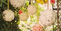 Gorgeous garden decorations / We love these gorgeous outdoor decorations! They'd look amazing anywhere, but especially in our award-winning gardens.