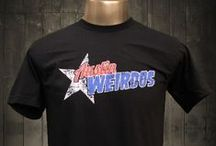 Austin Weirdos Cool T-shirt / Austin prides itself on its music scene, bars, eclectic stores, and laid-back lifestyle. As far as our logo, we kind of forgot about sports because, just like the city, we wanted to be different. Even the locals will enjoy the careful research put into this super soft Austin Weirdos funny men's t-shirt.