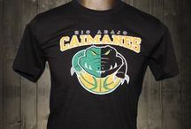 Caimanes de Rio Abajo Awesome T-shirt / A Caimanes is in the crocodile family and although none have ever been caught in Rio Abajo, Panama, the locals swear they have seen them in rivers.