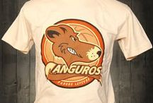 Canguros de Parque Lefevre / This awesome t-shirt is from the Panamanian Basketball League.