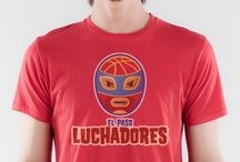 El Paso Luchadores Funny T-shirt / Many Luchador wrestlers are heroes in their culture and you will look like a hero by sporting this funny t-shirt.