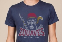 New York Zouaves Awesome T-shirt / This awesome sports logo dates back to the civil war. Love the colors and history of this t-shirt.