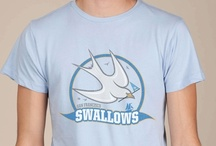 San Francisco Swallows Awesome Sports Logos t-shirt / The White Swallow was a clipper ship that made history in San Francisco legal circles. Now it's an awesome t-shirt.