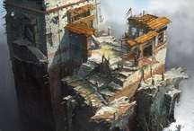 CGMA Instructor :James Paick / Here are a few images from our amazing Environment Design instructor James Paick. We pride our selves in having some of the best artists/teachers in the Entertainment Design industry. CGMA's Master Instructors have years of experience, and have worked for most major studios (companies such as Disney, Blizzard, DreamWorks, and Pixar- to name a few). All in all, they are very passionate about mentoring the next generation of artists.