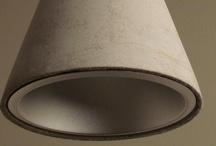 betonlampen / lampen van beton zijn de trend in moderne verlichting