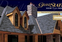 GAF Grand Slate / Ultra-Premium Designer Shingles - Massive, extra-thick tabs and specially blended color palette create the look of traditional slate.  - A.B. Edward - North Shore, Illinois Cedar, Asphalt, Slate, Copper Roofing and Siding Experts. http://www.abedward.com | (847) 827-1605 / by A.B. Edward Enterprises, Inc.