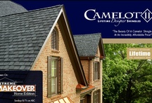 GAF Camelot II / Value Collection Designer Shingles - Camelot II Shingles offer the look of the original Camelot Shingles, but at an incredibly affordable price!  - A.B. Edward - North Shore, Illinois Cedar, Asphalt, Slate, Copper Roofing and Siding Experts. http://www.abedward.com | (847) 827-1605 / by A.B. Edward Enterprises, Inc.