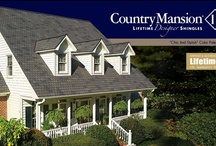 GAF Country Mansion II / Value Collection Designer Shingles - Country Mansion II Shingles offer the look of the original Country Mansion Shingles, but at an incredibly affordable price! - A.B. Edward - North Shore, Illinois Cedar, Asphalt, Slate, Copper Roofing and Siding Experts. http://www.abedward.com | (847) 827-1605 / by A.B. Edward Enterprises, Inc.