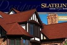 GAF Slate Line / Value Collection Designer Shingles - Bold shadow lines and tapered cut-outs create the look of slate at a fraction of the cost. - A.B. Edward - North Shore, Illinois Cedar, Asphalt, Slate, Copper Roofing and Siding Experts. http://www.abedward.com | (847) 827-1605 / by A.B. Edward Enterprises, Inc.