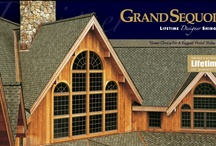 GAF Grand Sequoia / Value Collection Designer Shingles - Patented, extra-large shingle with unique design creates a dramatic visual impact for prestigious homes. - A.B. Edward - North Shore, Illinois Cedar, Asphalt, Slate, Copper Roofing and Siding Experts. http://www.abedward.com | (847) 827-1605
