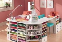 Craft Rooms, Work Spaces, Crafting Organization & Ideas / Craft Rooms, Craft Tools & Organizing