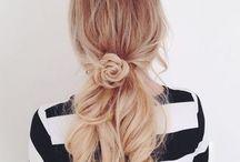 Dlhé vlasy easy účesy