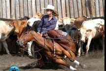 Horsewomen and Cowgirls / They have one thing in common:  a true passion for horses. Oh! And they're amazing athletes.