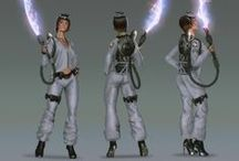 Ghostbusters Redesign Contest / CGMA Ghostbusters Redesign Contest Artwork