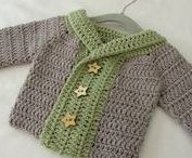 Crochet baby/kids clothes