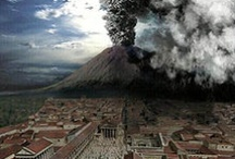 Pompeii / When Mount Vesuvius erupted in the summer of A.D. 79, the nearby Roman town of Pompeii, Italy was buried under several feet of ash and rock, killing hundreds of people. The ruined city remained frozen in time until it was discovered by a surveying engineer in 1748.   / by A Massaro