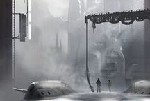 Matte & Digital Painting / Concept Art, Speed Painting and Matte Painting / by Alexandre Chiron