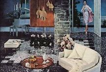 50s - 70s Designs for Living / Dreamy mid-century interiors and accessories, from mod to omg!  / by Ann Tindall