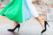 Fashion: Color-Blocking / by Dora Carson