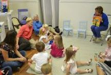"""Pete the Cat Story Hour / We celebrated the release of """"Pete the Cat and His Magic Sunglasses"""" with story hour at Cloud 9!"""