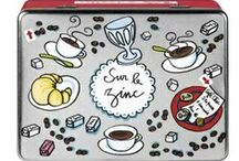 La salle à manger / Les créations de Valérie Nylin éditées par Derrière La Porte pour se retrouver autour d'une petite collation
