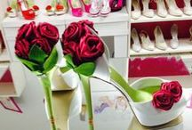 Scarpe da sposa bouquet - wedding shoes bouquet  / Le fantastiche creazioni Ferracuti con le scarpe bouquet