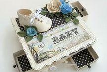 Pour Bébés/For Babies / Boitatou créées pour des bébés, des baptêmes, des naissances.