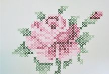 Cross stitch & Embroidery / Inspiration & patterns